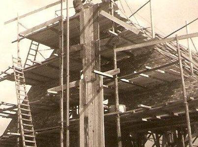 bouw schuur